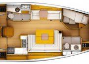Sun Odyssey 439 plan